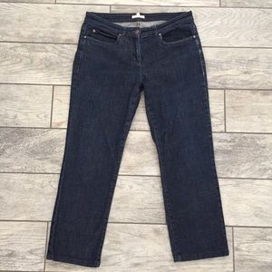 Eileen Fisher Cropped Capri Jeans S (30 x 24.5)